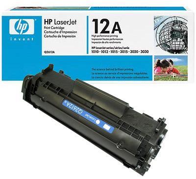 hộp mực 12A - Hp Laserjet 1010/1020/3015/3055 - canon LBP 2900/3000