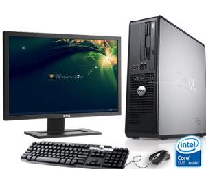 Máy Tính Bộ : Dell Optiplex 790 Mini , Chíp I3 2100, Ram 4Gb, HDD 250GB, LCD 20Inch..