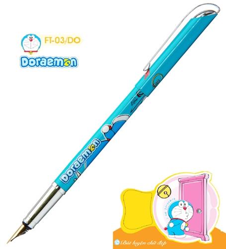 Bút máy luyện chữ đẹp FT03/DO  Doremon