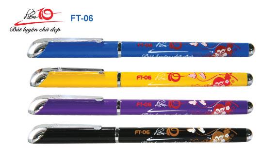 Bút máy luyện chữ đẹp Thiên Long FT-06