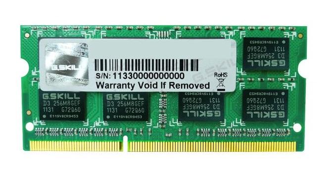 DDR3 8GB (1333) G.Skill F3-10666CL9S-8GBSQ