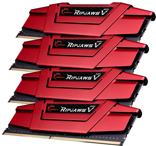DDR4 4x8GB (2666) G.Skill  F4-2666C15Q-32GVR