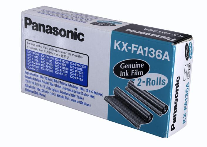Film fax Panasonic KX-FA136