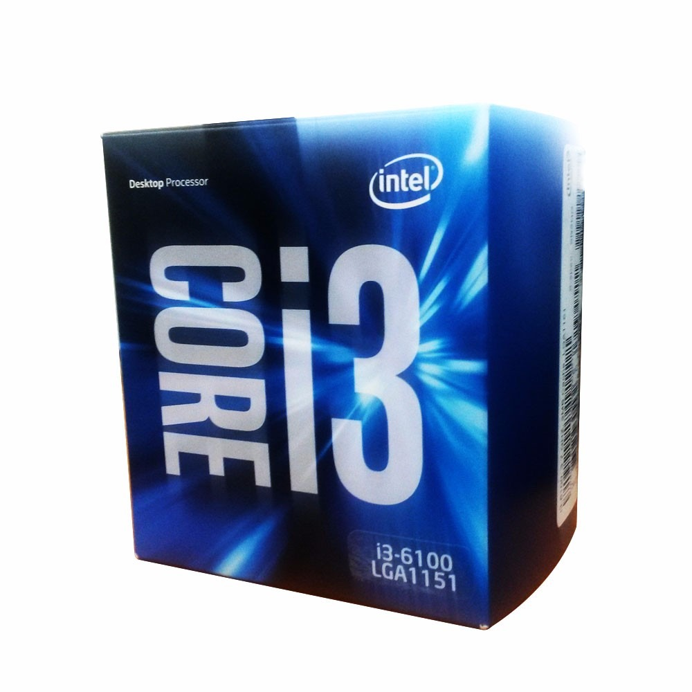 Intel Core  i3-6100 Processor  (3M Cache, 3.70 GHz)
