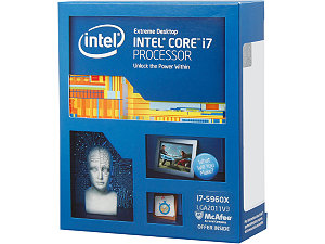 Intel Core i7-5960X Processor Extreme Edition  (20M Cache, up to 3.00 GHz)