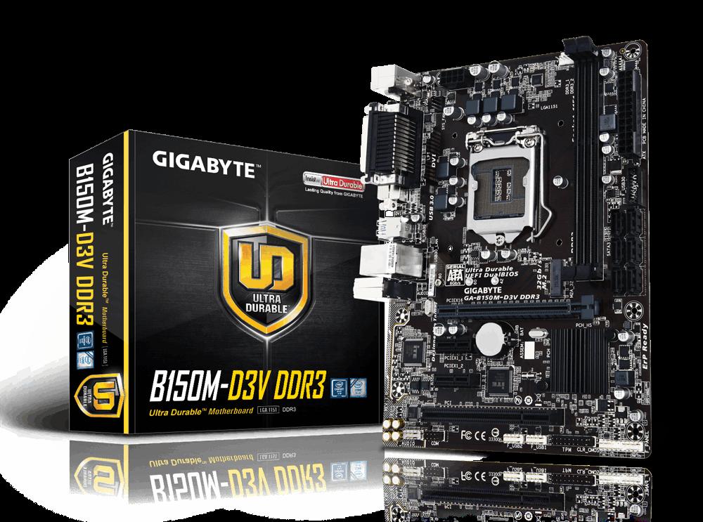 Main Gigabyte GA-B150M-D3V-DDR3, Socket 1151 (GA-B150M-D3V-DDR3)