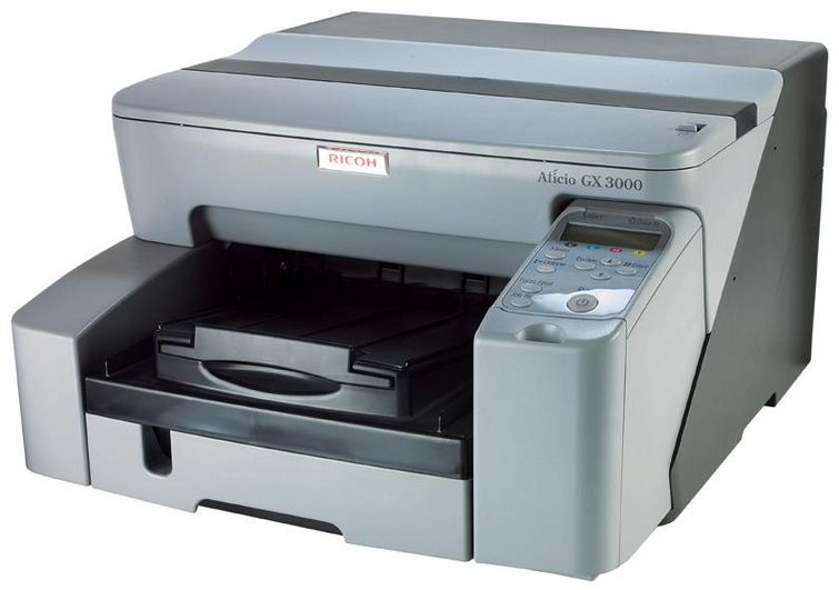 Máy in Ricoh Aficio GX2500 GelSprinter Color Printer