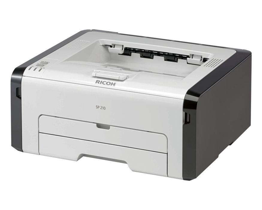 Máy in Ricoh SP-210, Laser trắng đen