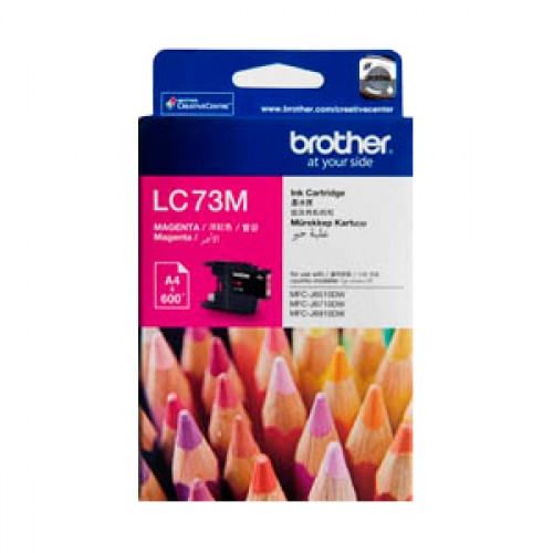 Mực in Brother LC 73 Magenta Ink Cartridge (LC 73M)