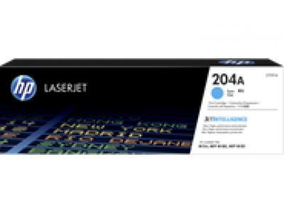 Mực in chính hãng HP 204A Cyan Original LaserJet Toner Cartridge (CF511A)