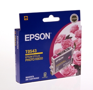 Mực in Epson T0543 - UltraChrome Hi-Gloss - Magenta Ink Cartridge