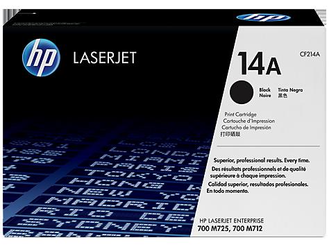 Mực in HP 14A Black Original LaserJet Toner Cartridge (CF214A)