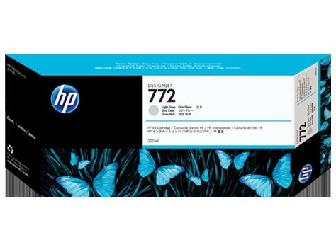 Mực in HP 772 300-ml Light Gray DesignJet Ink Cartridge (CN634A)