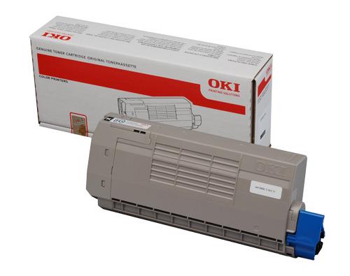 Mực in Oki C711 Cyan Toner Cartridge