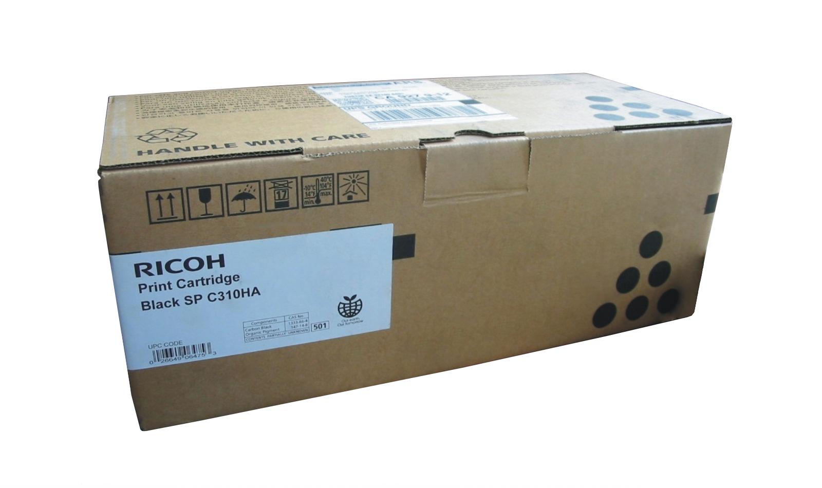 Mực in Ricoh C310HS Cyan Toner Cartrdge (406484)