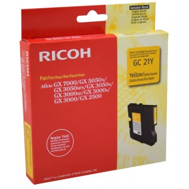 Mực in Ricoh GC21 Yellow Gel Cartridge