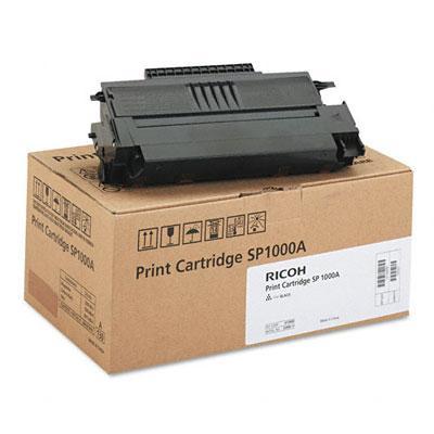 Mực in Ricoh SP1000A Black Toner Cartridge (413460)