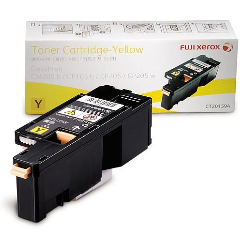Mực in Xerox DocuPrint CP205, Yellow Toner Cartridge (CT201594)