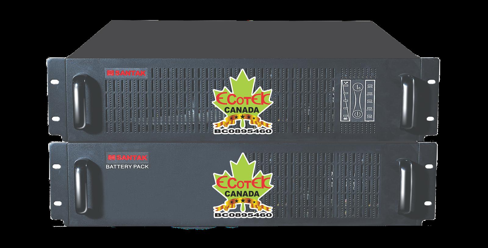 UPS 3000VA SANTAK ONLINE 3KVA–MODEL C3KR
