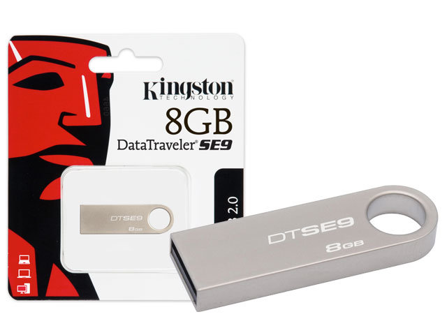 USB 8GB Kingston DataTraveler SE9 (DTSE9H/8GB)